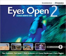 Eyes Open Level 2 Class Audio CDs (3) - фото книги