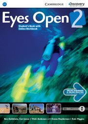 Підручник Eyes Open Level 2 Student's Book with Online Workbook and Online Practice