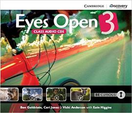 Eyes Open Level 3 Class Audio CDs (3) - фото книги