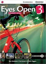 Eyes Open Level 3 Student's Book with Online Workbook and Online Practice