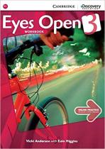 Аудіодиск Eyes Open Level 3 Workbook with Online Practice