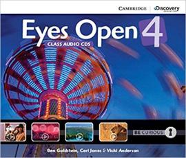 Eyes Open Level 4 Class Audio CDs (3) - фото книги