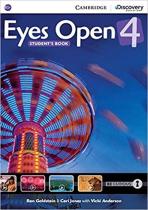 Аудіодиск Eyes Open Level 4 Student's Book