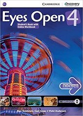 Eyes Open Level 4 Student's Book with Online Workbook and Online Practice - фото обкладинки книги