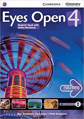 Eyes Open Level 4 Student's Book with Online Workbook and Online Practice - фото книги
