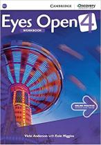 Аудіодиск Eyes Open Level 4 Workbook with Online Practice