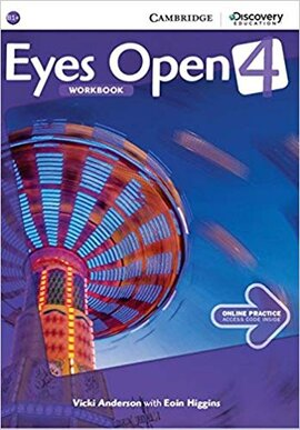 Eyes Open Level 4 Workbook with Online Practice - фото книги