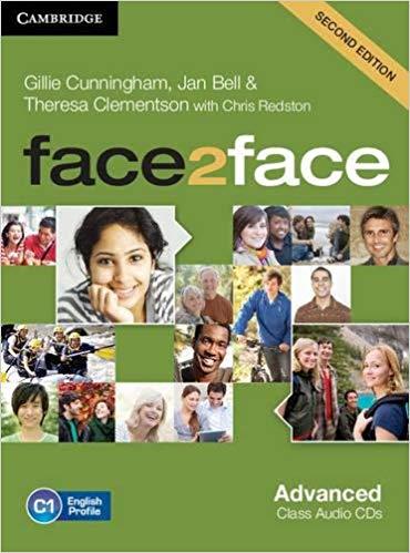 Аудіодиск Face2face 2nd Edition Advanced Class Audio CDs