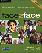 Face2face 2nd Edition Advanced Student's Book with DVD-ROM - фото обкладинки книги