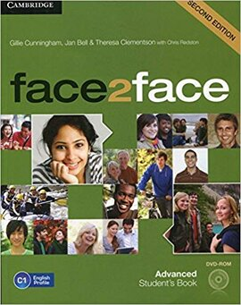 Face2face 2nd Edition Advanced Student's Book with DVD-ROM - фото книги