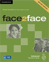 Face2face 2nd Edition Advanced Teacher's Book with DVD - фото обкладинки книги