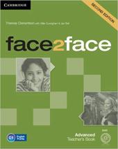 Face2face 2nd Edition Advanced Teacher's Book with DVD - фото обкладинки книги