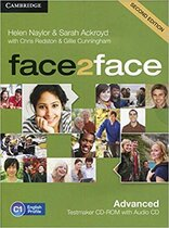 Книга для вчителя Face2face 2nd Edition Advanced Testmaker CD-ROM and Audio CD