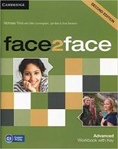 Face2face 2nd Edition Advanced Workbook with Key - фото обкладинки книги