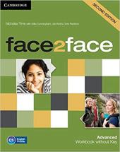Face2face 2nd Edition Advanced Workbook without Key - фото обкладинки книги