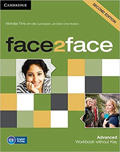 Робочий зошит Face2face 2nd Edition Advanced Workbook without Key