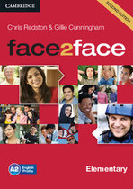 Робочий зошит Face2face 2nd Edition Elementary Class Audio CDs