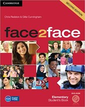 Face2face 2nd Edition Elementary Student's Book with DVD-ROM - фото обкладинки книги