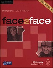 Face2face 2nd Edition Elementary Teacher's Book with DVD - фото обкладинки книги