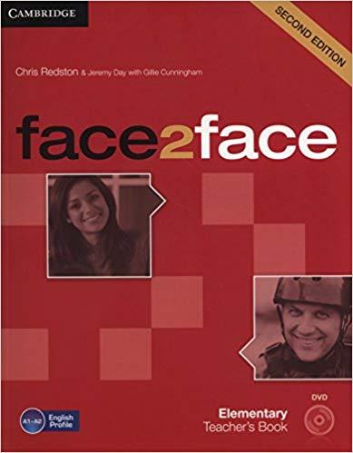 Книга для вчителя Face2face 2nd Edition Elementary Teacher's Book with DVD