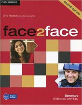 Face2face 2nd Edition Elementary Workbook with Key - фото обкладинки книги