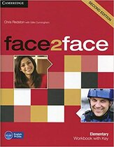 Підручник Face2face 2nd Edition Elementary Workbook with Key
