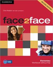 Face2face 2nd Edition Elementary Workbook without Key - фото обкладинки книги