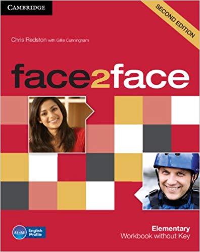Робочий зошит Face2face 2nd Edition Elementary Workbook without Key
