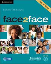 Робочий зошит Face2face 2nd Edition Intermediate Student's Book with DVD-ROM