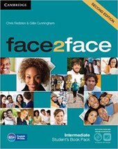 Робочий зошит Face2face 2nd Edition Intermediate Student's Book with DVD-ROM and Online Workbook Pack
