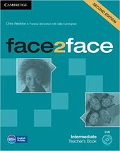 Face2face 2nd Edition Intermediate Teacher's Book with DVD - фото обкладинки книги