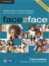 Face2face 2nd Edition Intermediate Testmaker CD-ROM and Audio CD - фото обкладинки книги