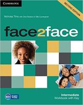 Face2face 2nd Edition Intermediate Workbook with Key - фото обкладинки книги
