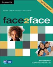 Face2face 2nd Edition Intermediate Workbook without Key - фото обкладинки книги