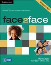 Підручник Face2face 2nd Edition Intermediate Workbook without Key