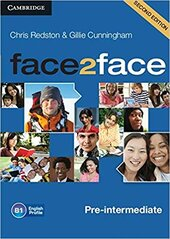 Робочий зошит Face2face 2nd Edition Pre-intermediate Class Audio CDs