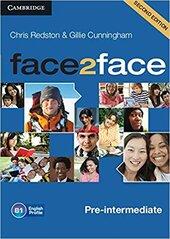 Face2face 2nd Edition Pre-intermediate Class Audio CDs - фото обкладинки книги