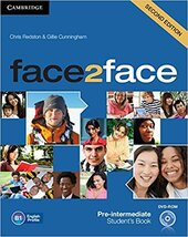 Face2face 2nd Edition Pre-intermediate Student's Book with DVD-ROM - фото обкладинки книги