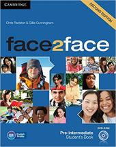 Робочий зошит Face2face 2nd Edition Pre-intermediate Student's Book with DVD-ROM