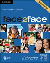 Face2face 2nd Edition Pre-intermediate Student's Book with DVD-ROM and Online Workbook Pack - фото обкладинки книги