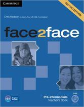 Книга для вчителя Face2face 2nd Edition Pre-intermediate Teacher's Book with DVD