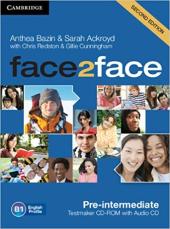 Face2face 2nd Edition Pre-intermediate Testmaker CD-ROM and Audio CD - фото обкладинки книги