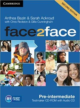 Face2face 2nd Edition Pre-intermediate Testmaker CD-ROM and Audio CD - фото книги