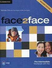 Face2face 2nd Edition Pre-intermediate Workbook with Key - фото обкладинки книги