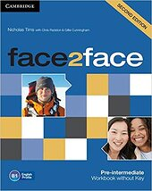 Face2face 2nd Edition Pre-intermediate Workbook without Key - фото обкладинки книги