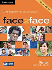 Підручник Face2face 2nd Edition Starter Class Audio CDs