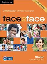 Книга Face2face 2nd Edition Starter Class Audio CDs