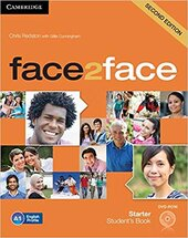 Робочий зошит Face2face 2nd Edition Starter Student's Book with DVD-ROM