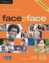 Face2face 2nd Edition Starter Student's Book with DVD-ROM and Online Workbook Pack - фото обкладинки книги