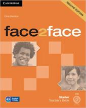 Face2face 2nd Edition Starter Teacher's Book with DVD - фото обкладинки книги